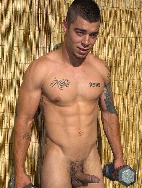 Ripped Brazilian Super Cum Shooter Fernando