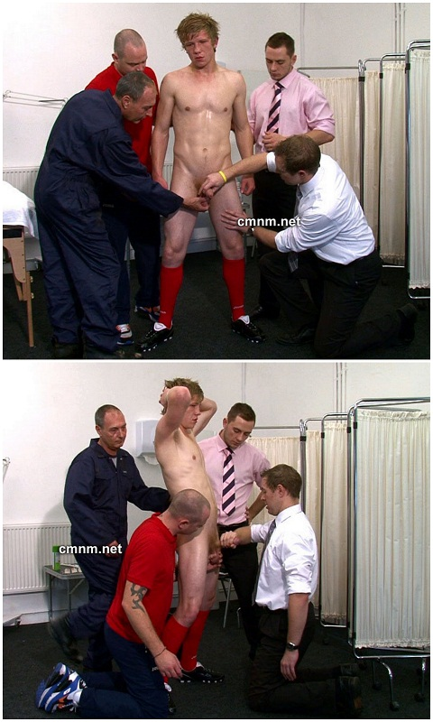 Sporty Lad Charlie's Fully Naked Physical Exam