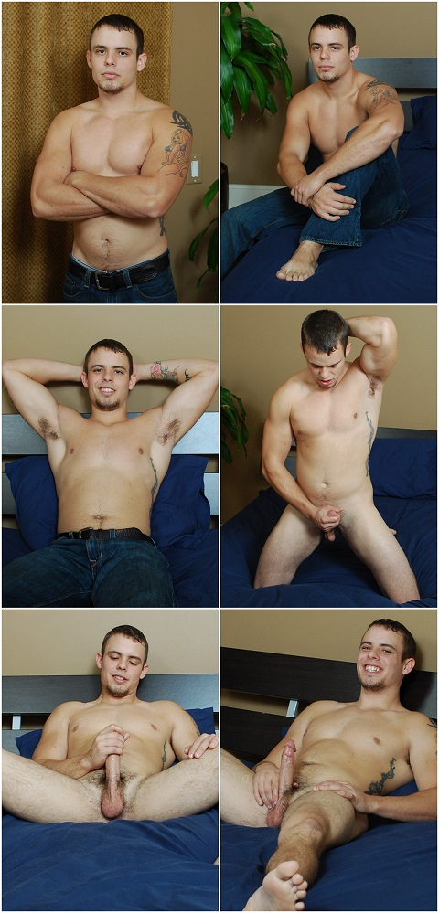 Straight Jock Denver Busts A Nut For Money