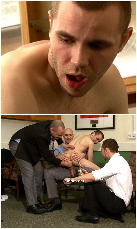 Rugby Player Ben Stripped Down & Hazed
