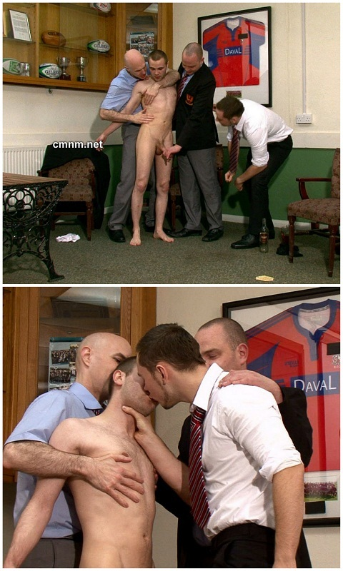 Clothed Men Take Control Of Ben's Naked Body