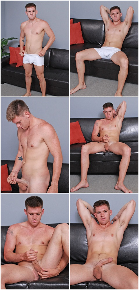 Donkey Dicked Jay Shows His Smooth Balls