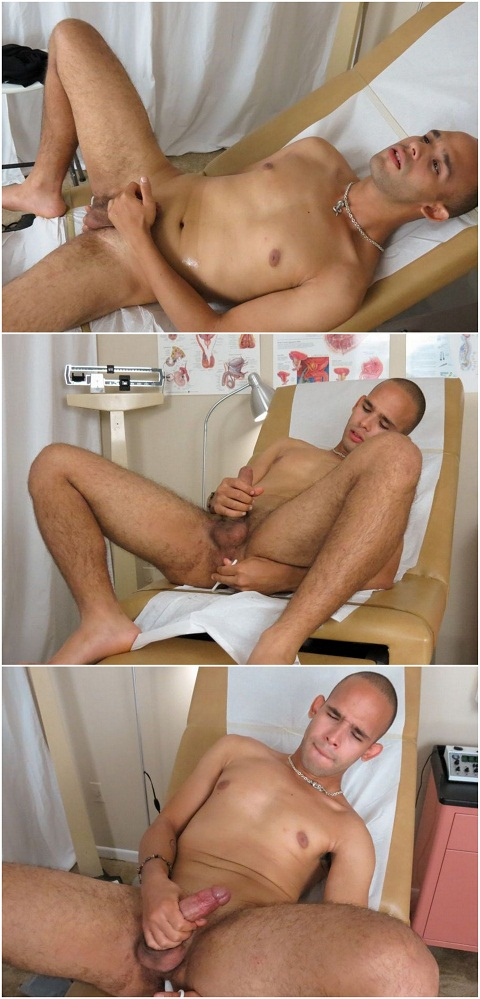 Young Jay Works His Hole With An Anal Massager