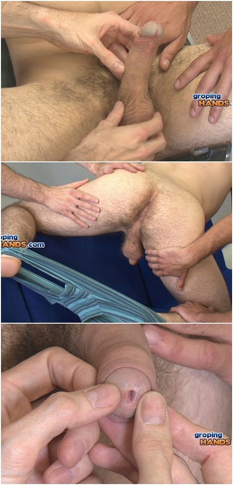 Sporty Darren Gets His Hard Cock Exposed