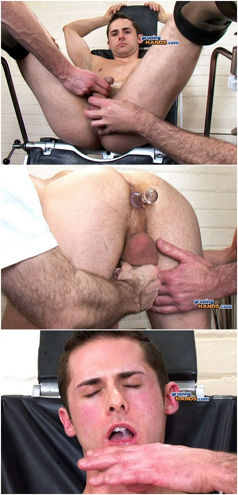 Muscular Pierce Gets His Tight Hole Fingered