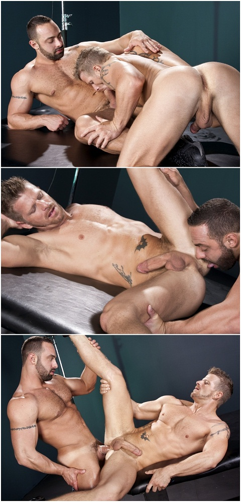 Jeremy's Hole Gets Explored By Fabio's Tongue
