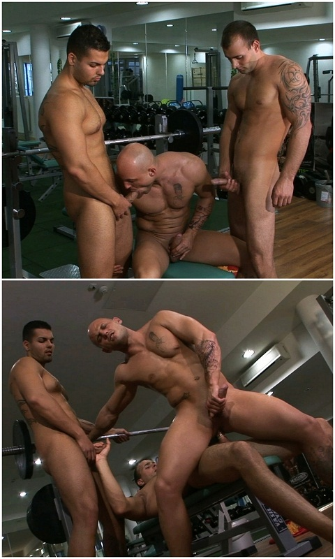 Joe, Jason & Keda's Mouthwatering Threesome