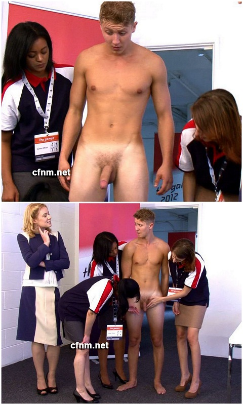 Swimmer Athlete John Gets Aroused By Women