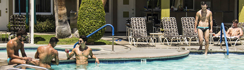 INNdulge - Palm Springs Gay Resort Hotel<br/> Summer Lovin' Rates - $99 Weekday Nights Beginning June 11